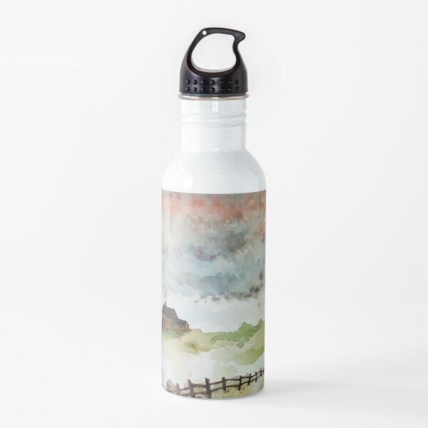Watercolour House Water Bottle