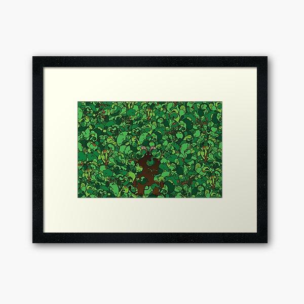 Forest Demon Framed Art Print