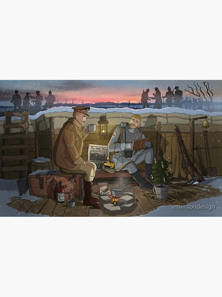 The Christmas Truce of 1914 by emersondesign