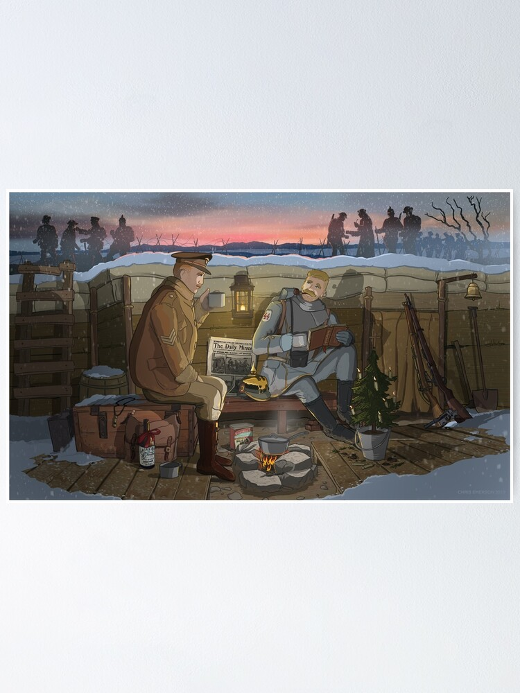 Alternate view of The Christmas Truce of 1914 Poster