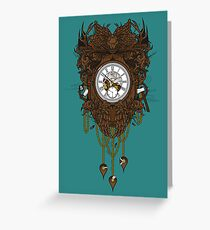 Your Time Machine Stranded Me Greeting Card