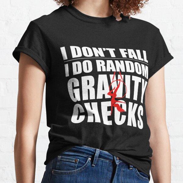 Aerial hoop T-shirt, Aerial silk T-shirt Classic T-Shirt