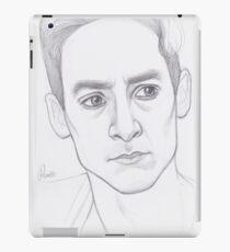 Abed Nadir Portrait iPad Case/Skin
