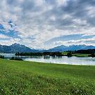 Forggensee in Bayern von SaNe-Stuecke