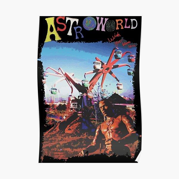 The astro world merch Poster
