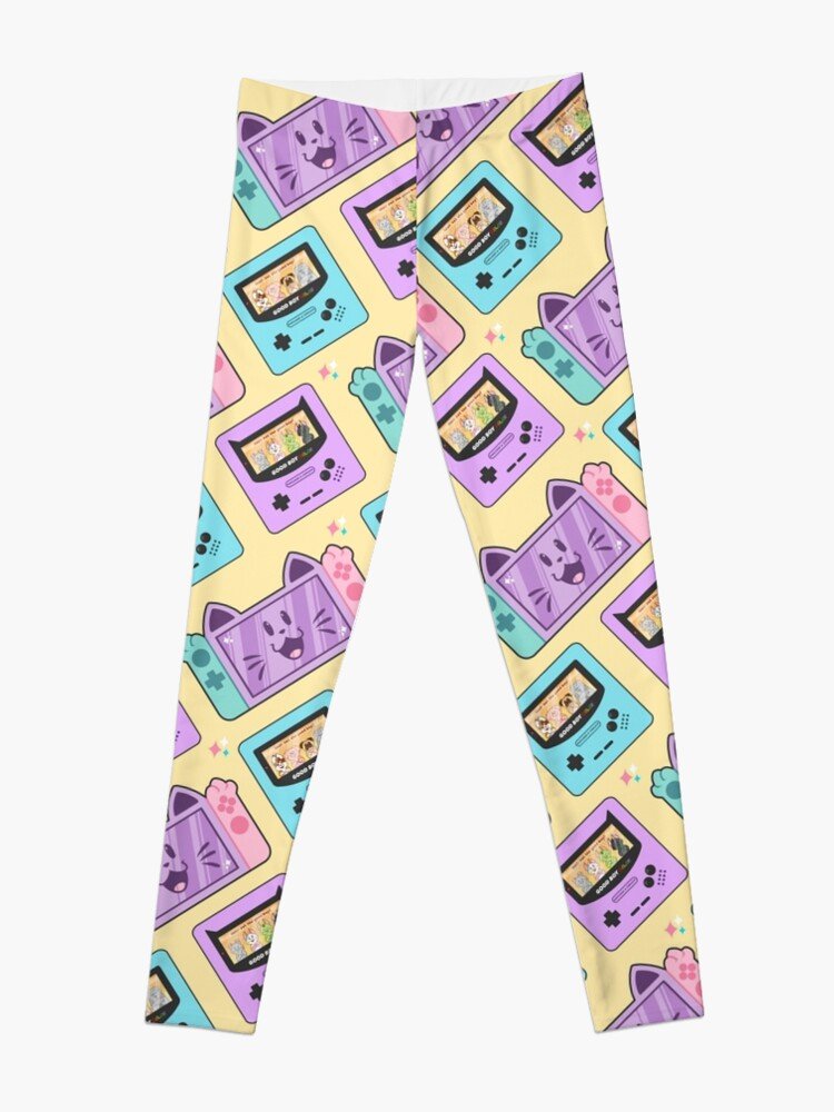 Alternate view of Good Boy Color//Nyantendo Switch  Leggings