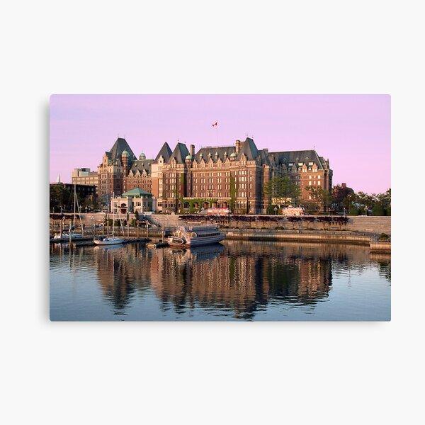 Empress Hotel- Victoria, British Columbia Canvas Print
