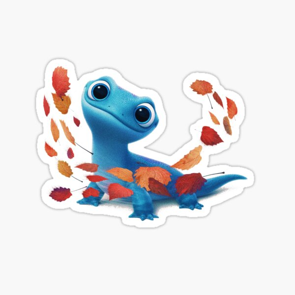 fire lizard  Sticker
