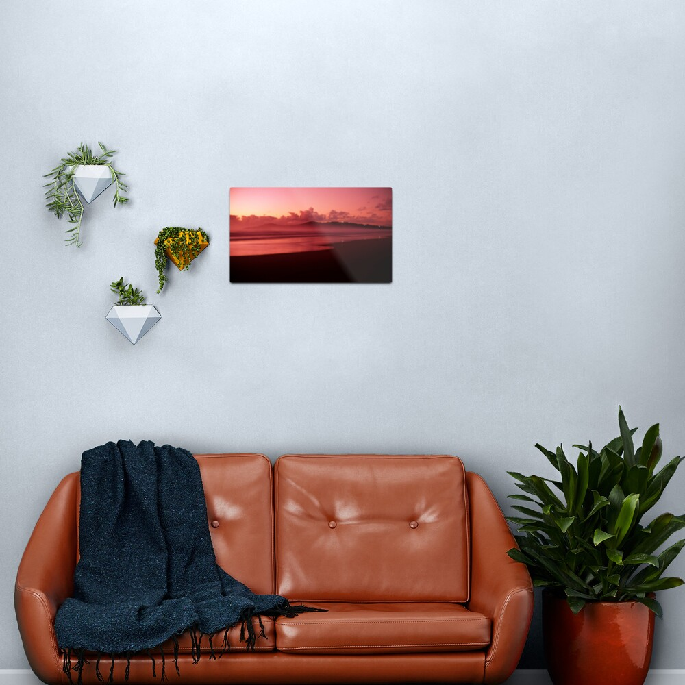 Pinatubo-coloured sunrise Metal Print