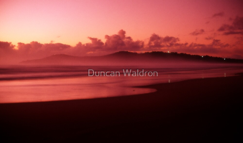 Pinatubo-coloured sunrise by Duncan Waldron