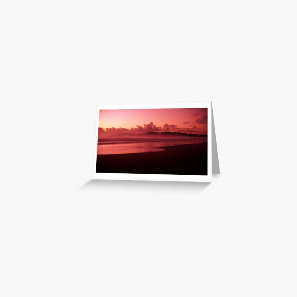 Pinatubo-coloured sunrise Greeting Card