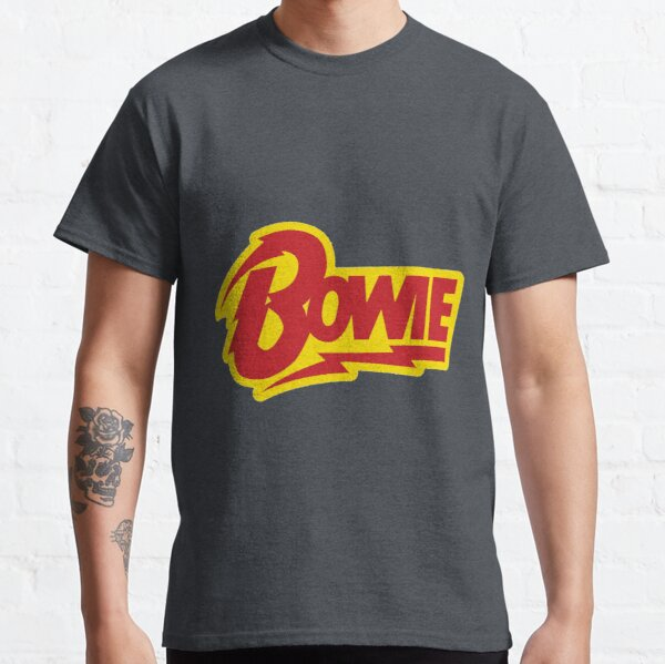 Logotipo de David Bowie Camiseta clásica