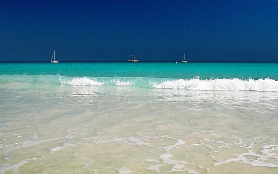 Cable Beach Broome - Western Australia by Barbara Burkhardt