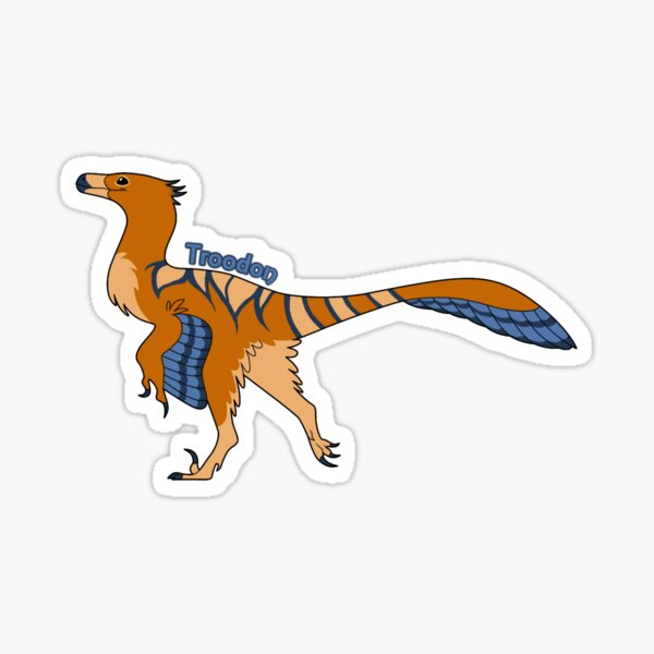 Troodon Sticker
