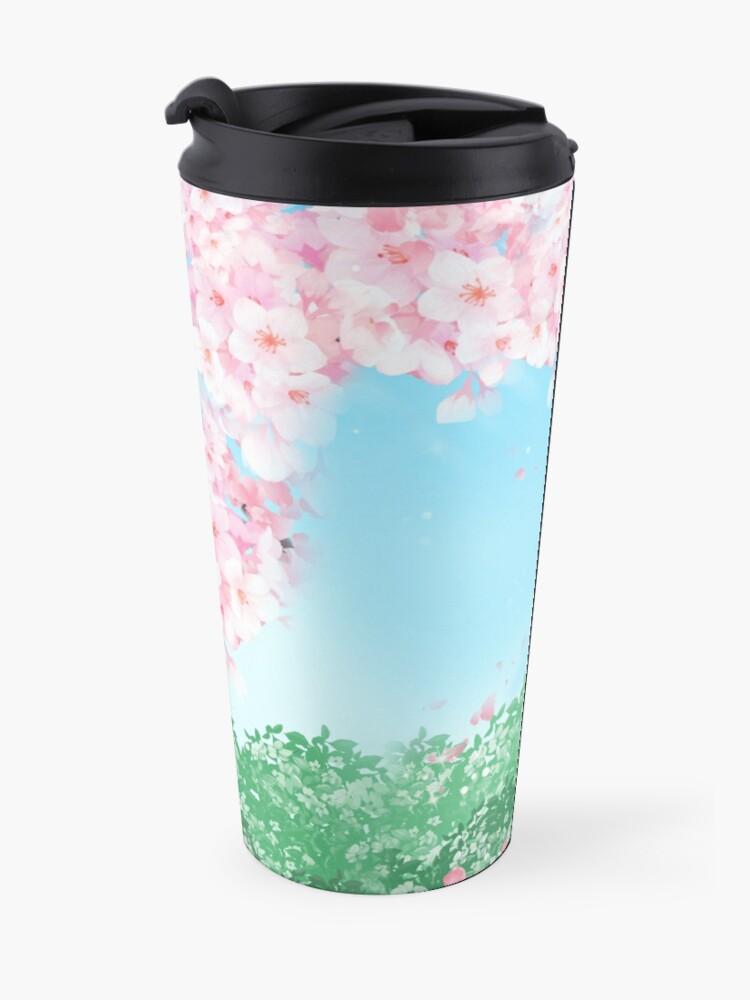 Alternate view of Sakura Yuri  Travel Mug