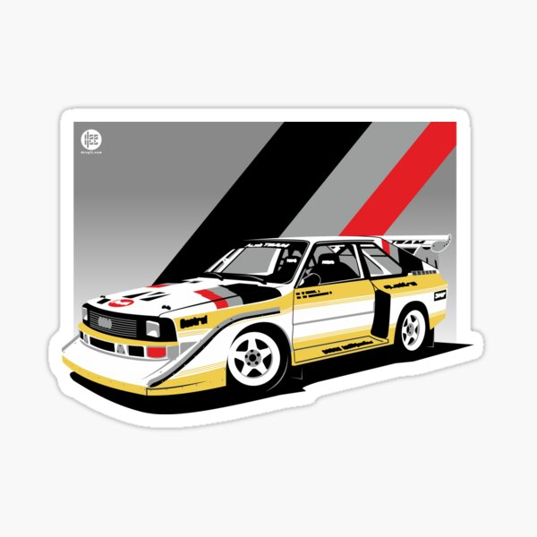 Audi Quattro Sticker