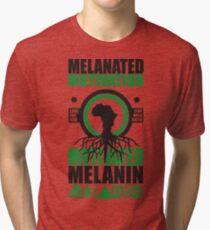 Motivated Melanin Tri-blend T-Shirt