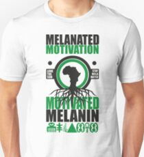 Motivated Melanin Unisex T-Shirt