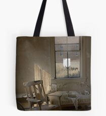 """""""Nowhere to Go"""" Bodie CA, An empty room Tote Bag"""