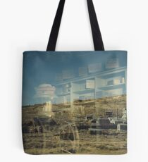 """""""Nowhere to Go"""" Bodie CA, Reflection Tote Bag"""