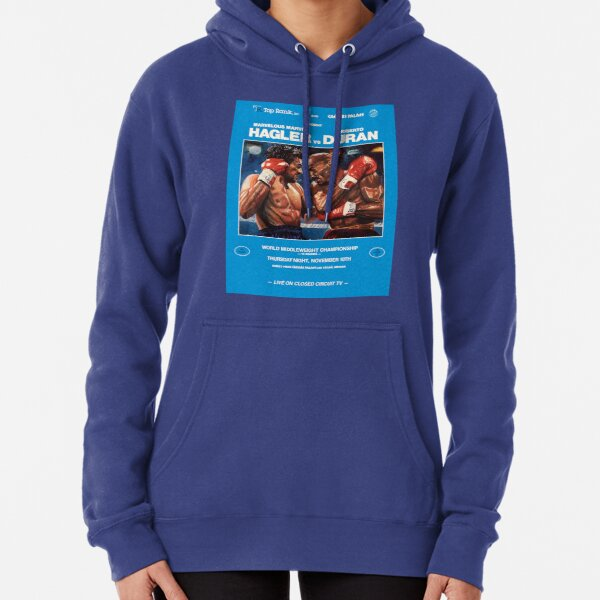 Boxing and Boxers:Two Middleweights at War Pullover Hoodie
