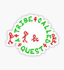 A Tribe Called Quest replica chest  Sticker