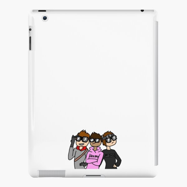 the trio looking cool iPad Snap Case