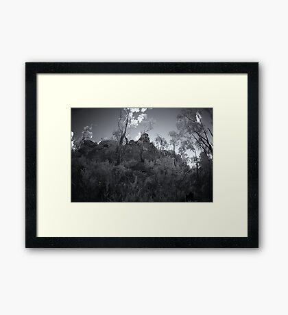 Ancient Land Framed Print