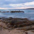 Inji Point - Injidup Beach Western Australia by Chris Paddick