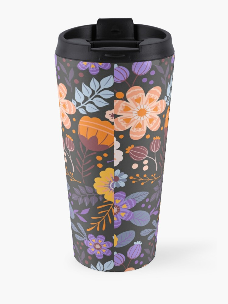 Alternate view of Floral Charm Travel Mug