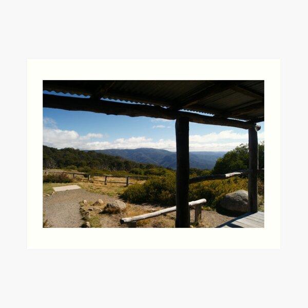 The View from Craigs Hut Magic Art Print