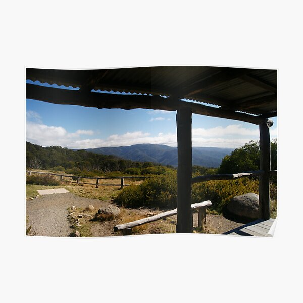 The View from Craigs Hut Magic Poster