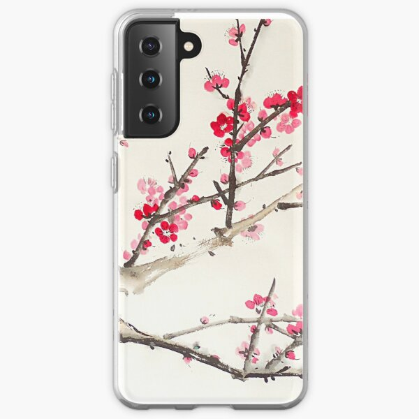 Plum Blossom Samsung Galaxy Soft Case