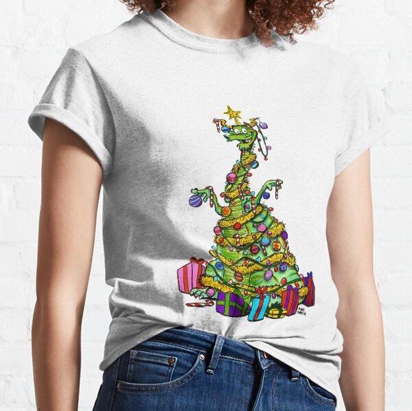 Christmas tree dragon Classic T-Shirt