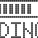 Ladebalken - schwarz auf weiß von XOOXOO