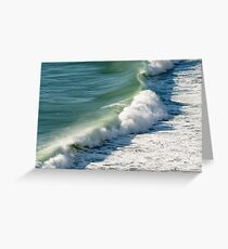 Piha Surf - Northland NZ Greeting Card