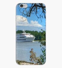 Casino Boat Approaching iPhone Case