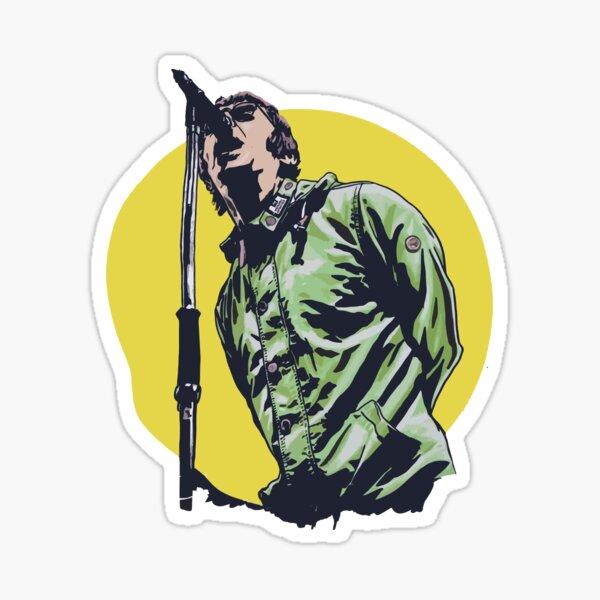 Liam Supersonic Sticker