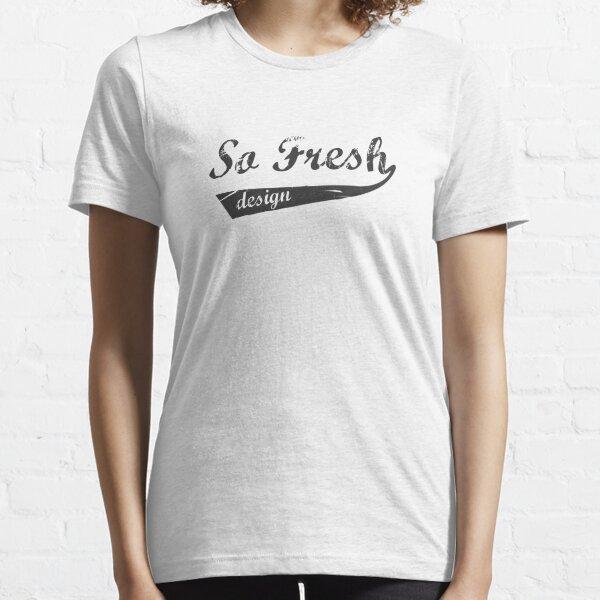 SoFresh Design - Old School Essential T-Shirt