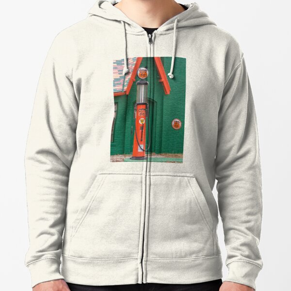 Phillips 66 With Ethyl Woolaroc Oklahoma Zipped Hoodie