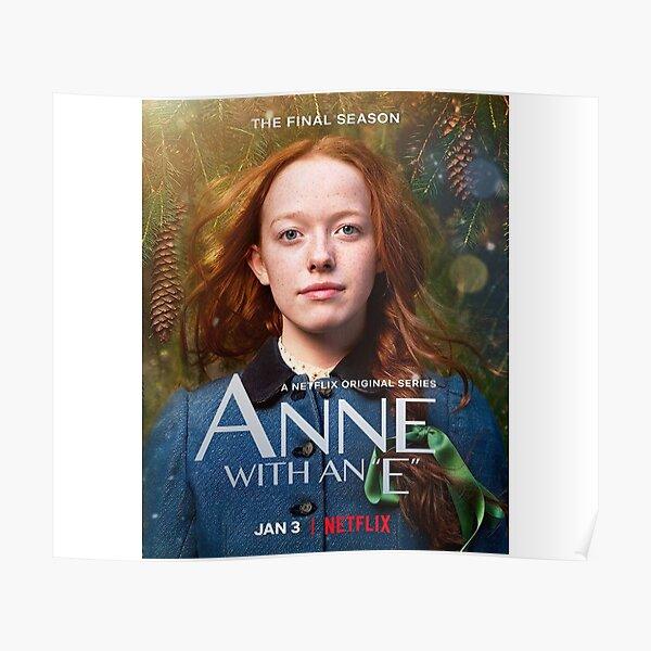 Anne with an E Poster Season 3 Moira Walley-Beckett TV Series Art Print 24x36/'/'