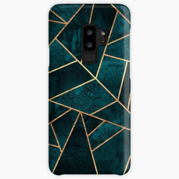 Deep Teal Stone Samsung Galaxy Snap Case