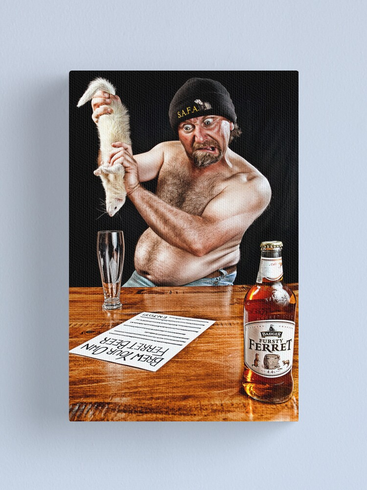 Alternate view of My May - The Home Brewer. Canvas Print