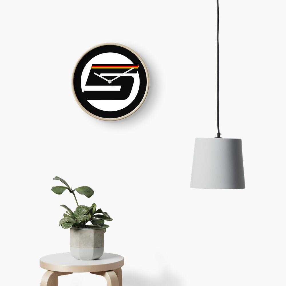 German '5' logo - small Clock