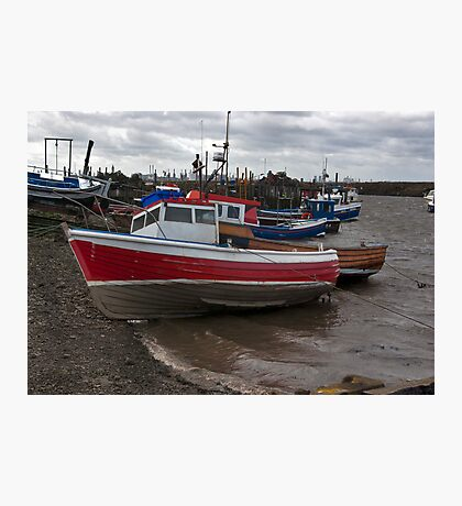 The Boats  -  Paddy's Hole. Photographic Print