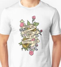 """""""Things Are Shaping Up To Be Pretty. Odd."""" Unisex T-Shirt"""