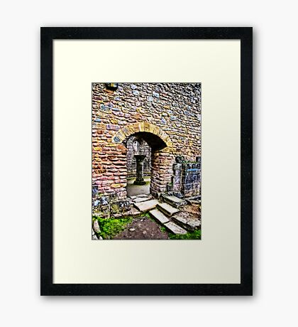 The Doorway  -  Fountains Abbey Framed Print