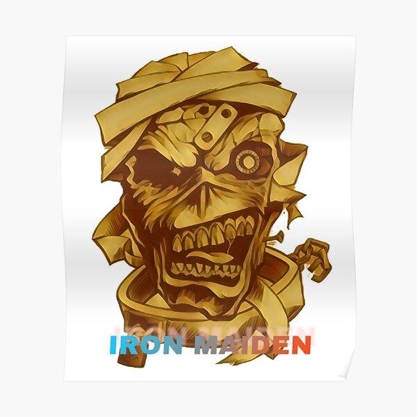 Trooper 666 Rocker Eddie IRON MAIDEN PERSONALISED Birthday Card
