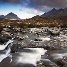 Sgurr Nan Gillean by STEVE  BOOTE