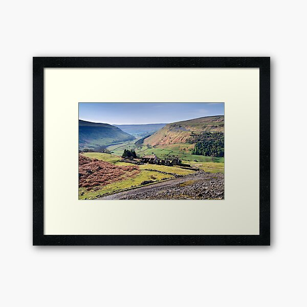 Crackpot Hall - The Yorkshire Dales Framed Art Print